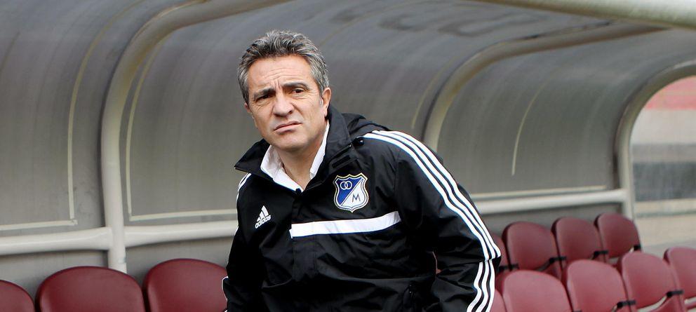 Foto: Juanma Lillo dejó de ser entrenador del Millonarios de Bogotá (EFE)