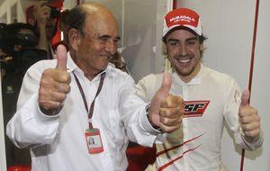 Fernando Alonso se despide de Emilio Botín: Nos deja un gran amigo