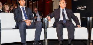 Post de Florentino Pérez quiere batir récords con un Nadal – Federer en el Bernabéu