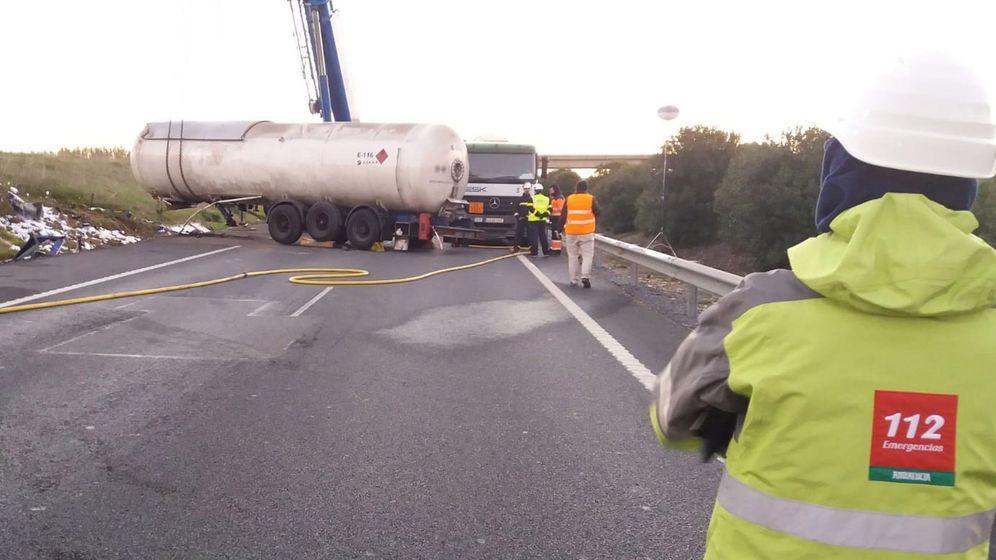 Foto: Servicios de emergencia dle 112 Andalucía (Efe)