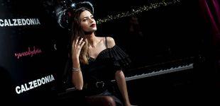 Post de Punto, medias fantasía y salones, así es el último (gran) look de Sara Carbonero