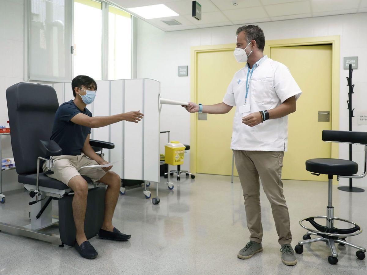 Foto: Centro de salud (EFE)