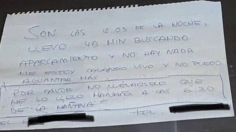Foto: El cartel de José María lo subieron a las redes sociales y se ha hecho viral (Foto: Twitter)