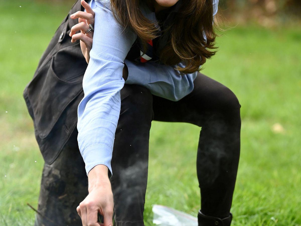 Foto: La duquesa de Cambridge. (LP)