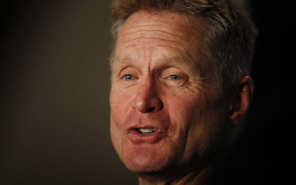 Foto: Steve Kerr es el entrenador de los Warriors desde el verano de 2014. (EFE)