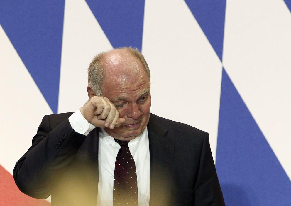 Foto: Uli Hoeness, presidente del Bayern de Múnich (Reuters).