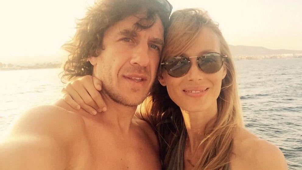 El segundo hijo de Puyol y Lorenzo será una niña y nacerá en enero