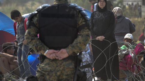 Macedonia dispersa con gases a miles de inmigrantes en su frontera