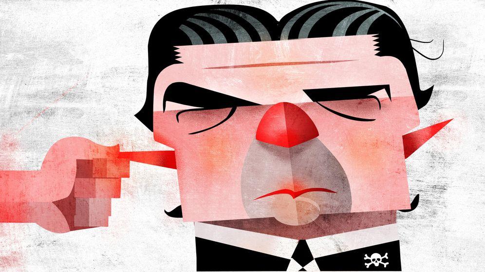 Foto: El exministro José Manuel Soria. (Ilustración: Raúl Arias)