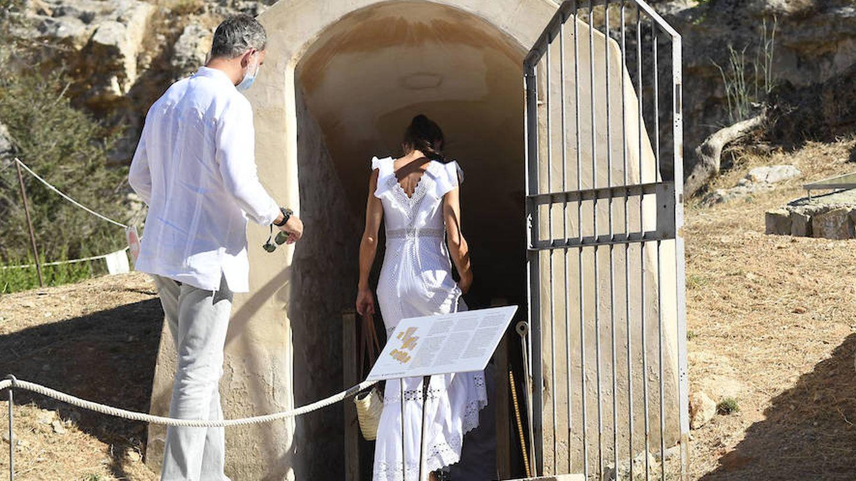 Los Reyes visitan la isla de Ibiza. (Limited Pictures)