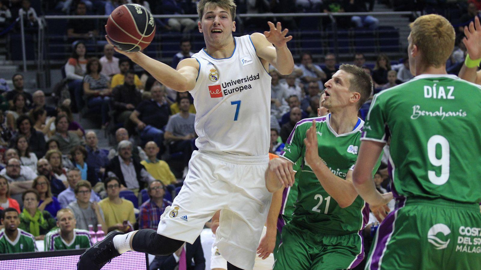 Foto: Doncic volvió a ser el líder. (EFE)