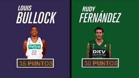 Diez años de un duelo histórico de cañoneros entre Louis Bullock y Rudy Fernández