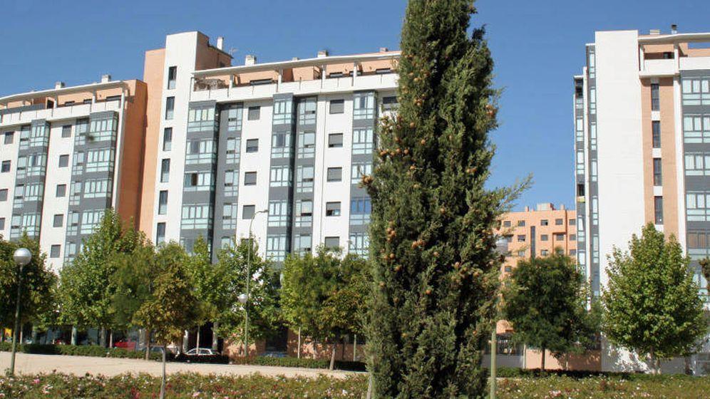 Foto: Bloque de viviendas en Carabanchel (Madrid)