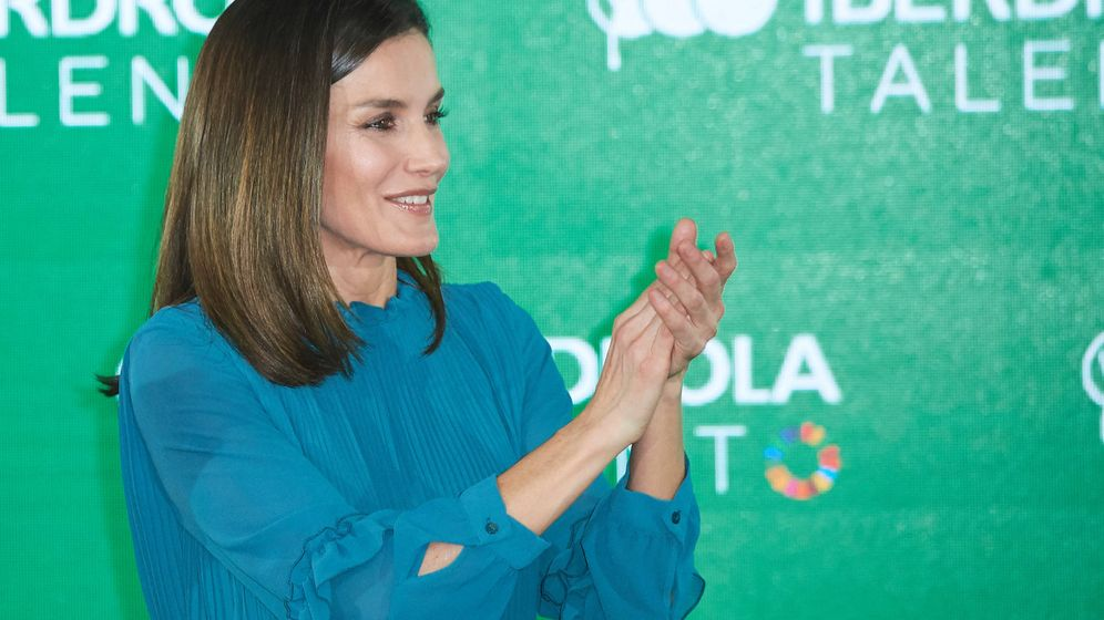 Foto: Doña Letizia durante el acto. (Limited Pictures)