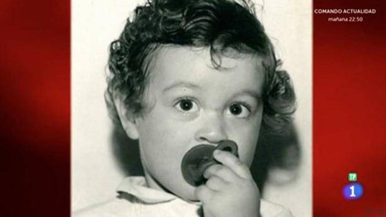 Pepe Rodríguez, en una imagen de pequeño. (RTVE)