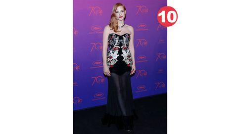 El ranking de las 10 mejor vestidas de Cannes... y cinco momentos incómodos