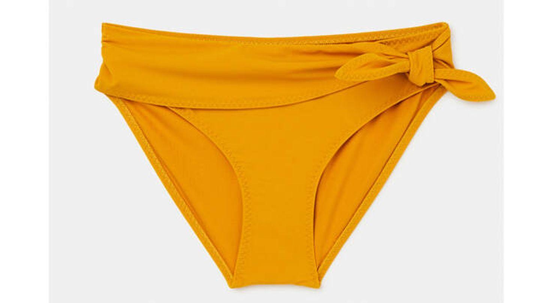 Braguita de bikini lisa Énfasis