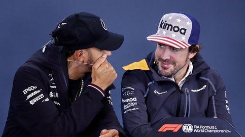 Fernando Alonso se despide de la F1 con el logo de Coca Cola en el pecho