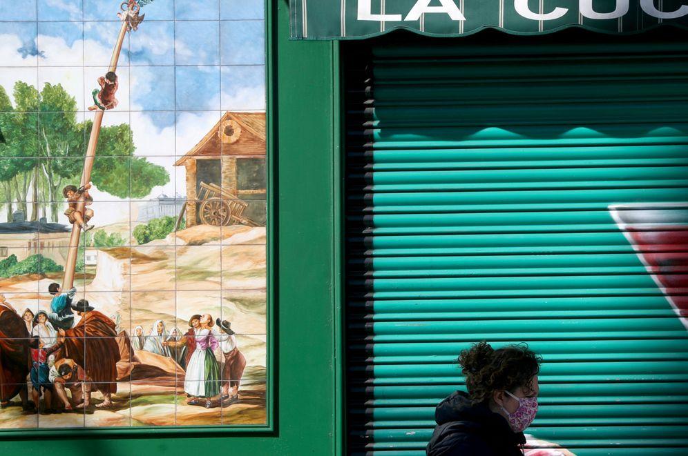 Foto: Bar cerrado en Madrid. (Reuters)