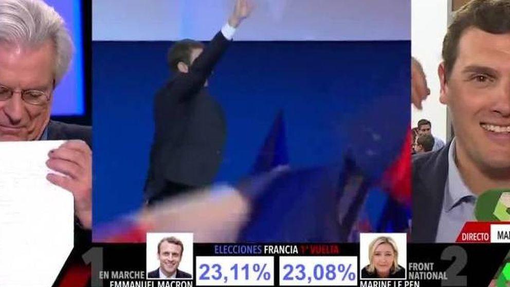 Ana Pastor retrata a Javier Nart a cuenta de Macron