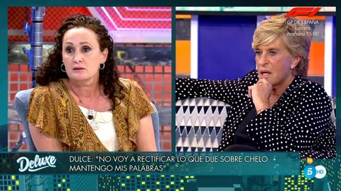 Chelo García Cortés abandona el plató de 'Sábado Deluxe' y demandará a Dulce