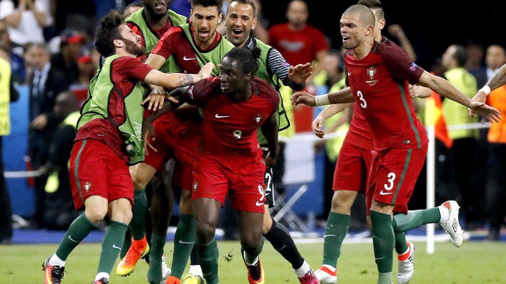 Éder no marca desde la final de la Euro y es silbado en los campos de Francia