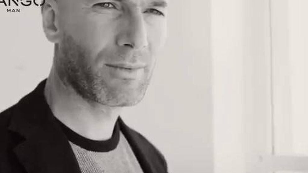 Zidane se pone sexy para Mango