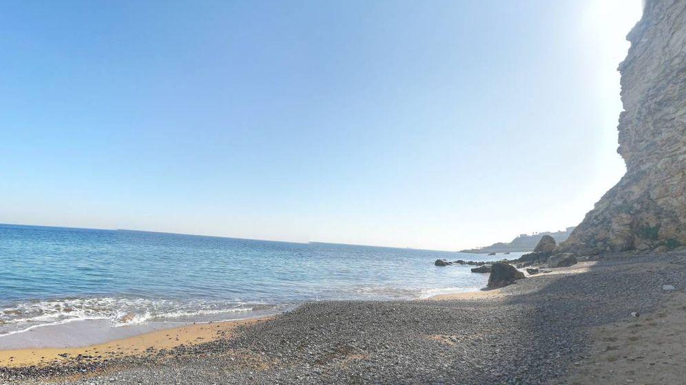Foto: Playa de Las Horcas, en Melilla (Google Maps)