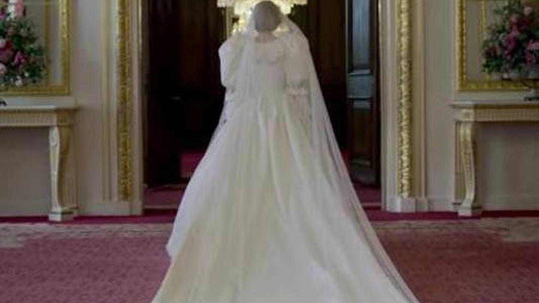 Emma Corrin, en 'The Crown'. (Netflix)