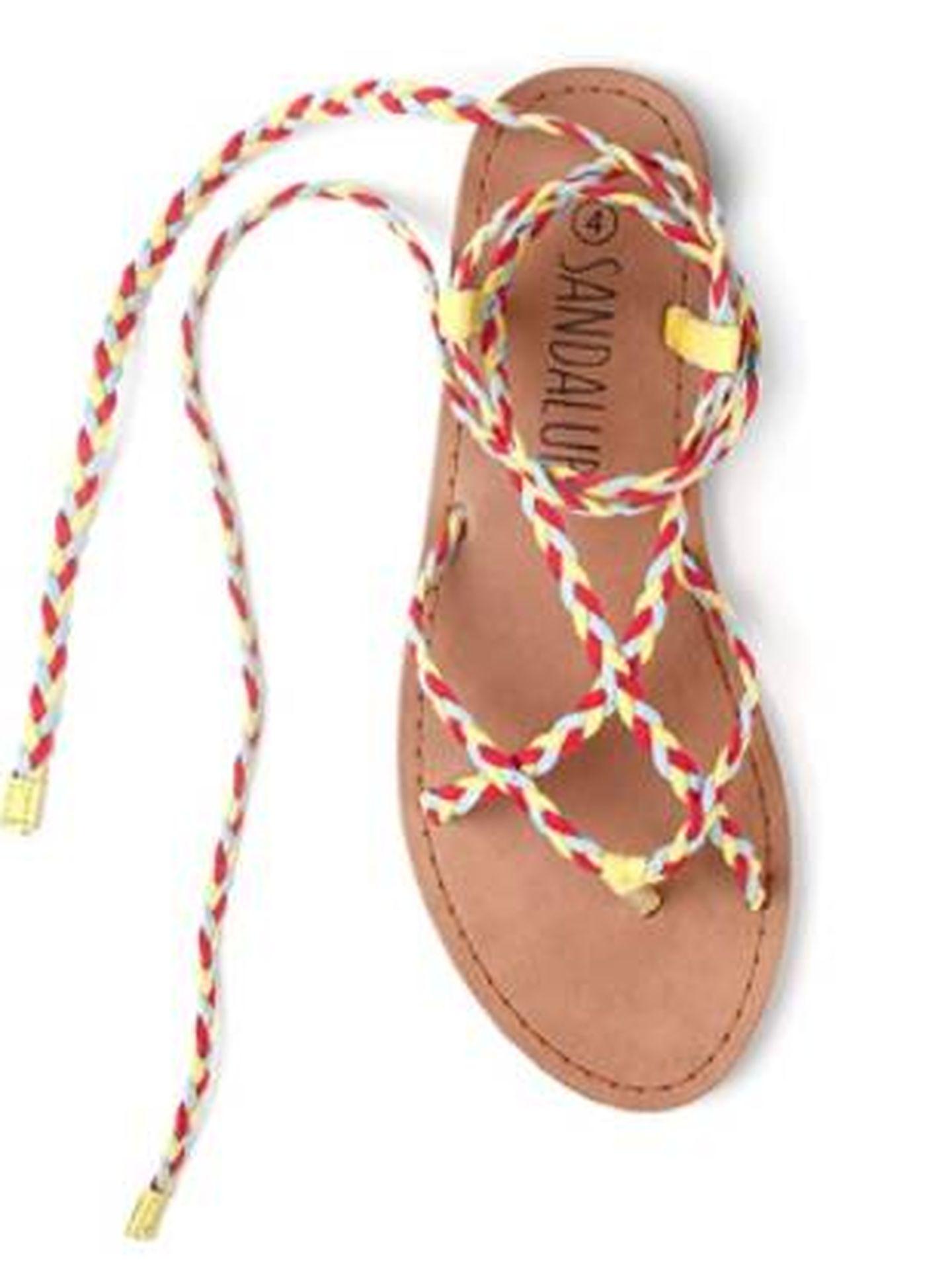 Las sandalias de Sandalup para Amazon. (Cortesía)