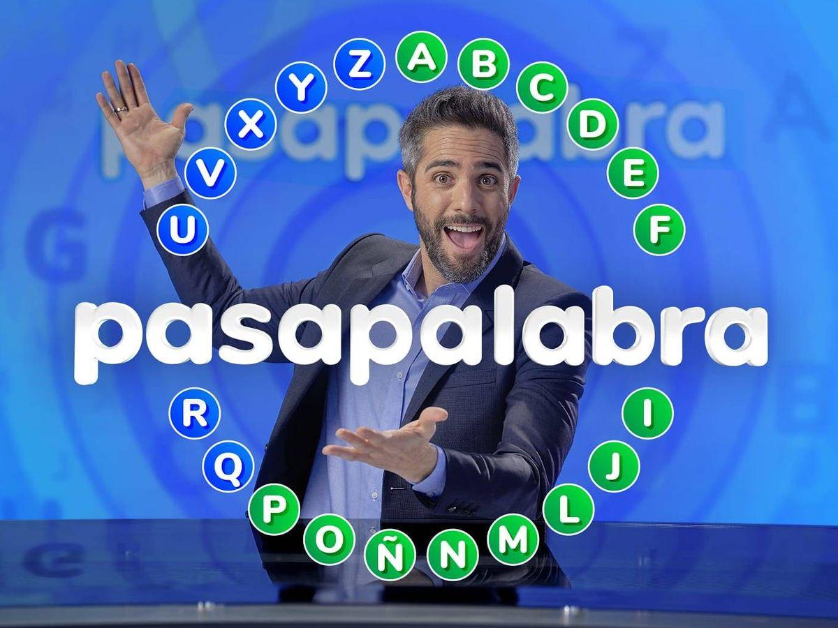 Foto: Roberto Leal, presentador del rosco de 'Pasapalabra'. (Atresmedia)