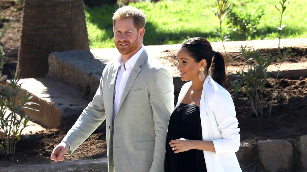 Foto: Harry y Meghan. (Getty)
