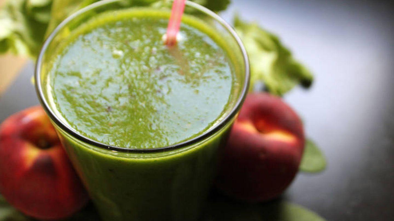 Un smoothie es una forma original de tomar verduras.