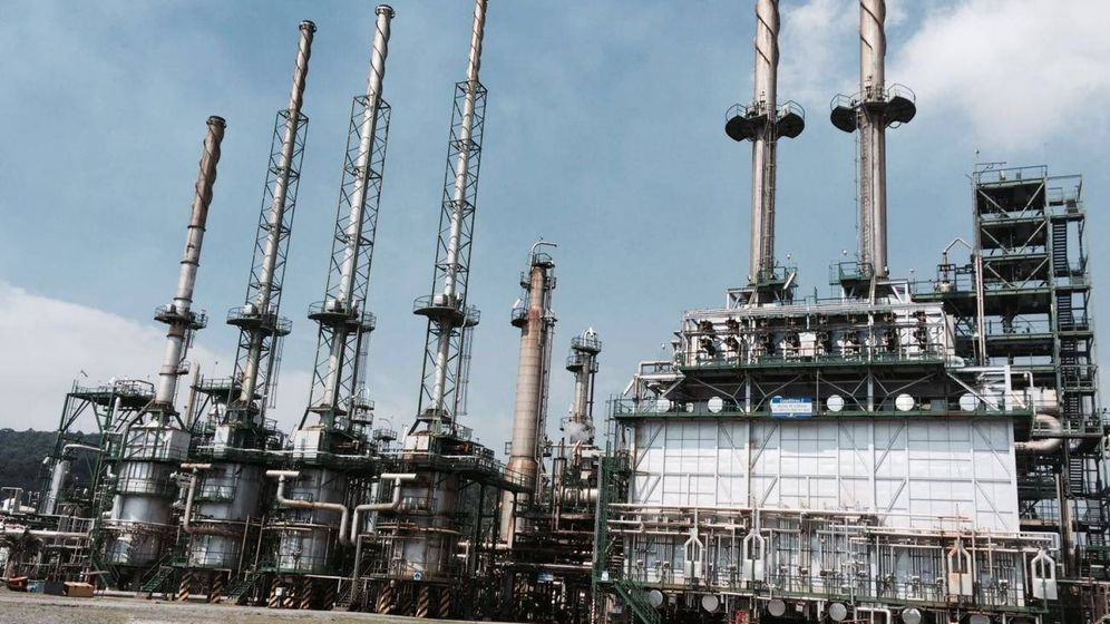 Foto: Central de Petroecuador en la que trabajó Ditecsa. (Ditecsa)