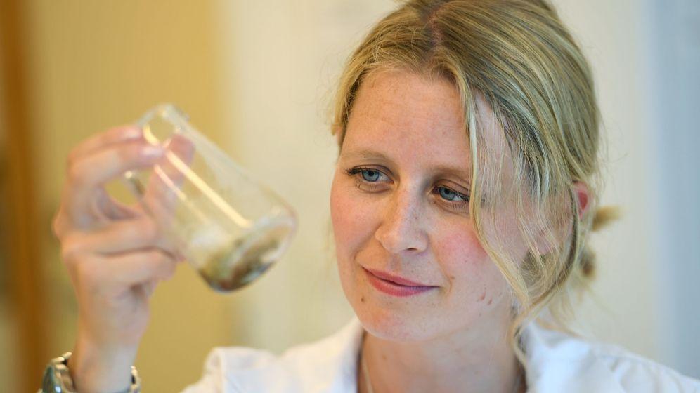 Foto: Nina Liland, científica en el Instituto de Investigación Marina de Noruega (Reuters)