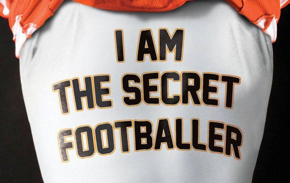Foto: Esta fue la portada del primer libro del 'Futbolista Secreto'.