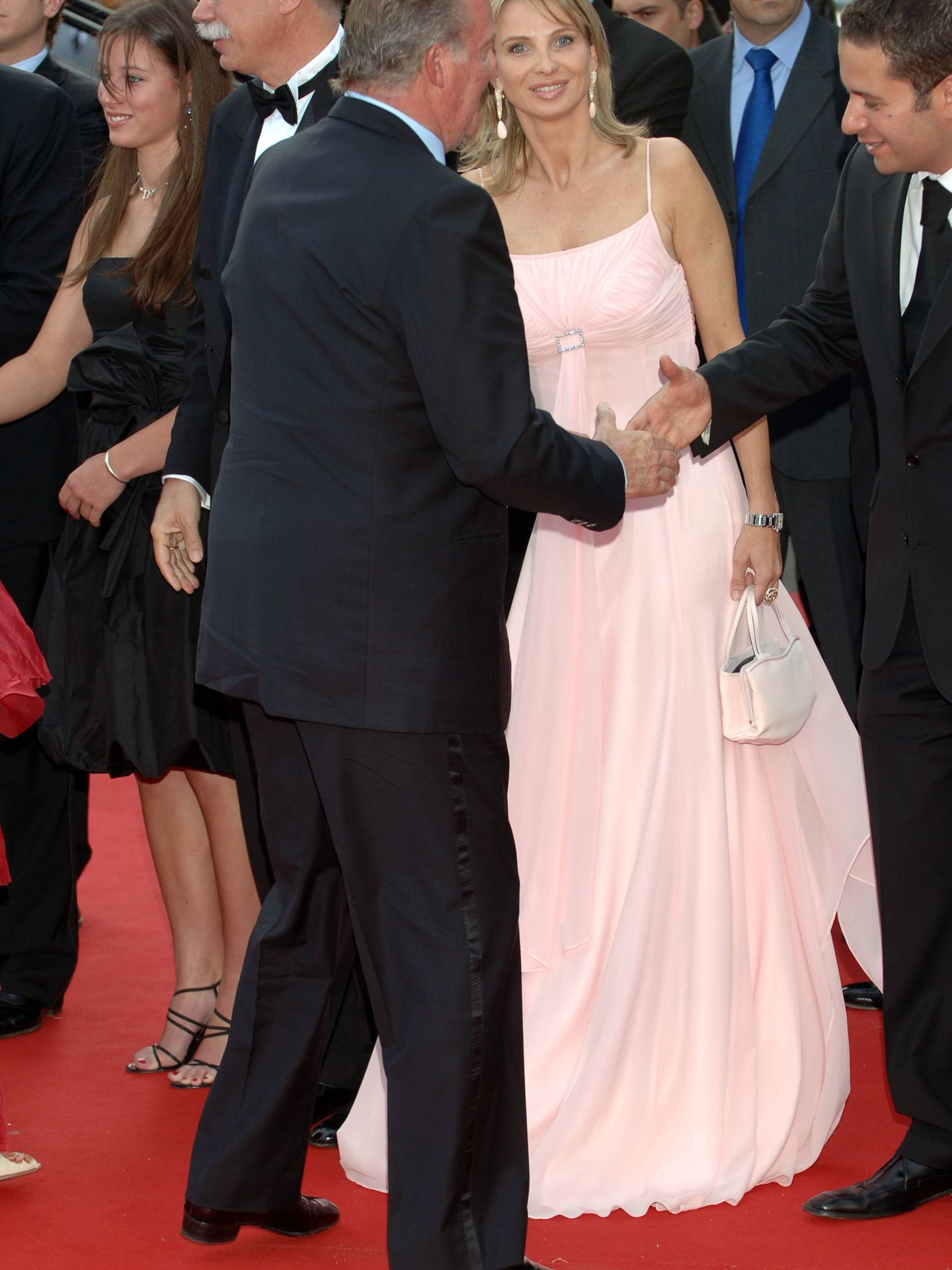 El rey Juan Carlos, junto a Corinna Zu Sayn-Wittgenstein en 2006. (Getty)