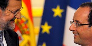Hollande apoyará a Rajoy para el rescate 'suave' por si debe seguirle