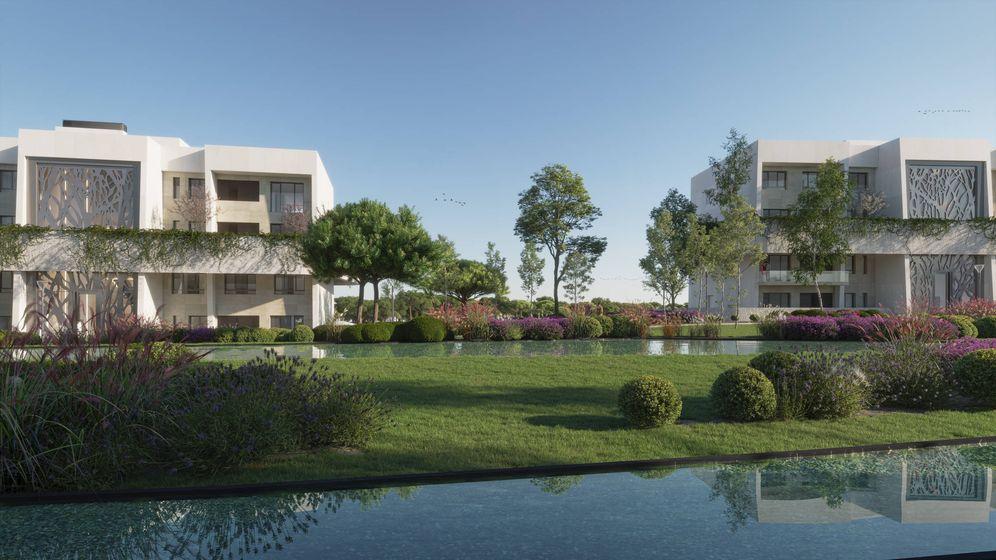Foto: Infografía de las futuras viviendas de La Finca Garden.