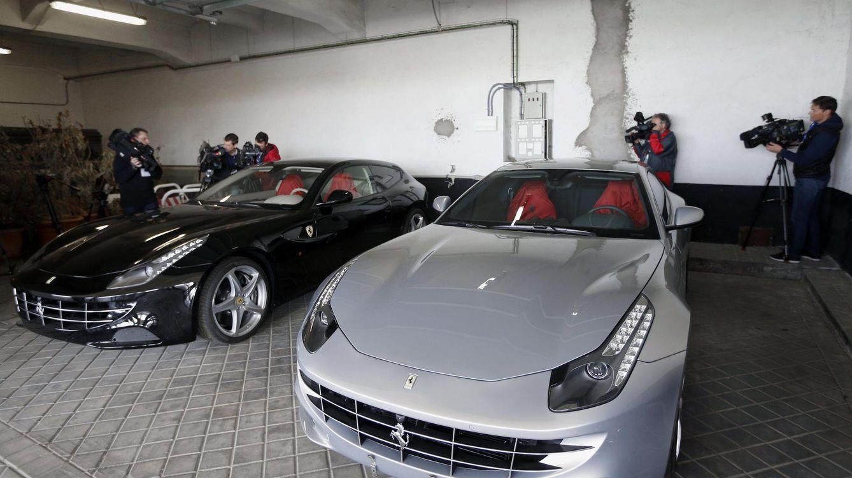 Nadie quiere los Ferrari del rey Juan Carlos