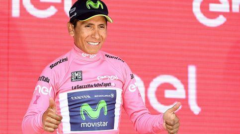Nairo Quintana recupera la 'maglia rosa' en la etapa más extraña del Giro