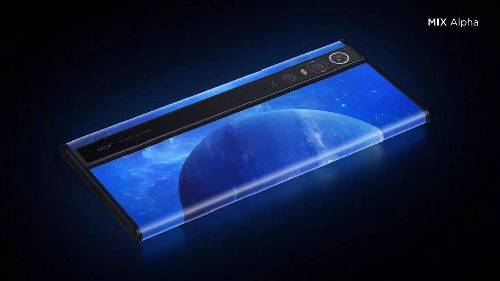 Mi Mix Alpha: Xiaomi crea el móvil más marciano e impresionante del año
