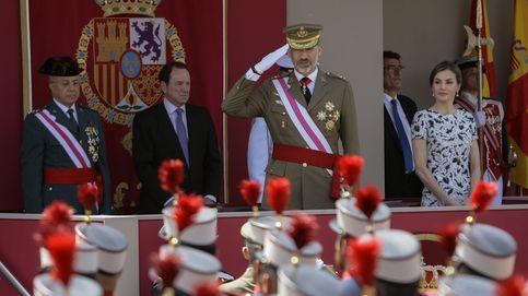 El Rey proclama su orgullo de soldado supremo de España en el Día de las FAS