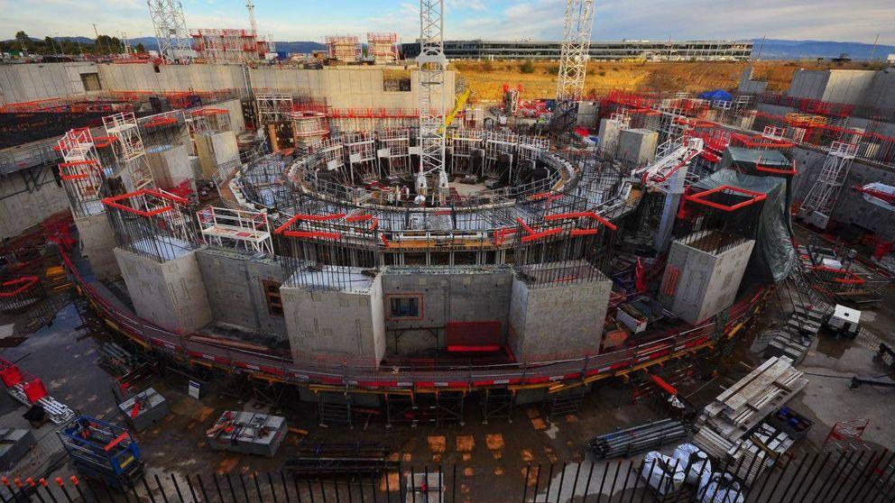 Así se construye el reactor nuclear que probará la energía del futuro