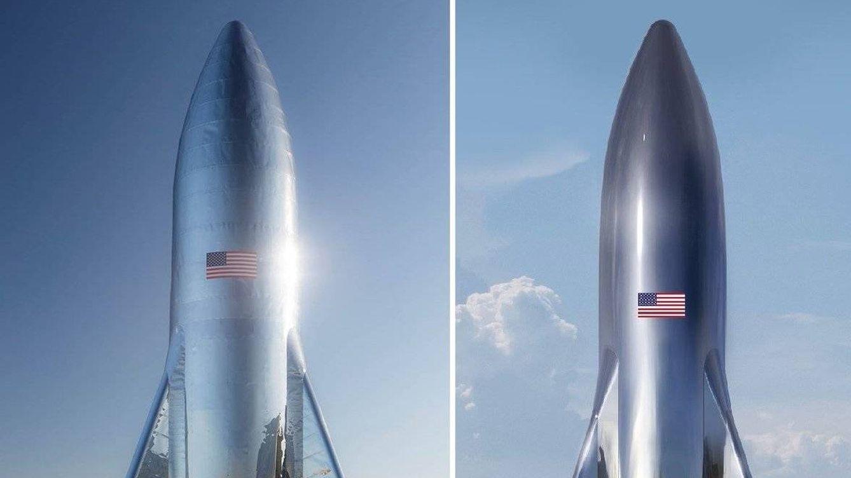 Esta es la primera imagen real del gigantesco cohete para ir a Marte de Elon Musk