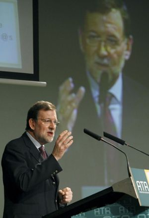 """Rajoy: """"Llevo un año muy duro"""""""
