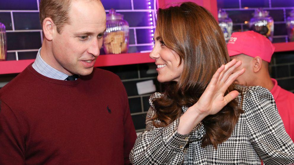 Kate Middleton, con un vestido de Zara de rebajas en su primer acto tras el Megxit
