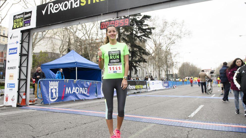 Malena Costa, la última en apuntarse a la moda del 'running'