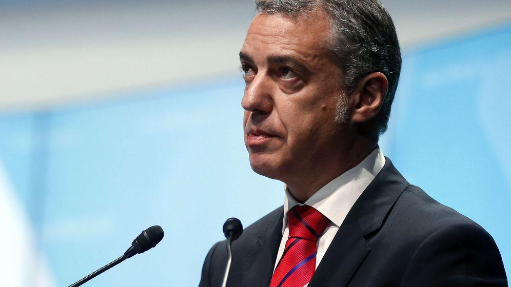 Foto: Iñigo Urkullu, candidato favorito a Lehendakari (EFE)