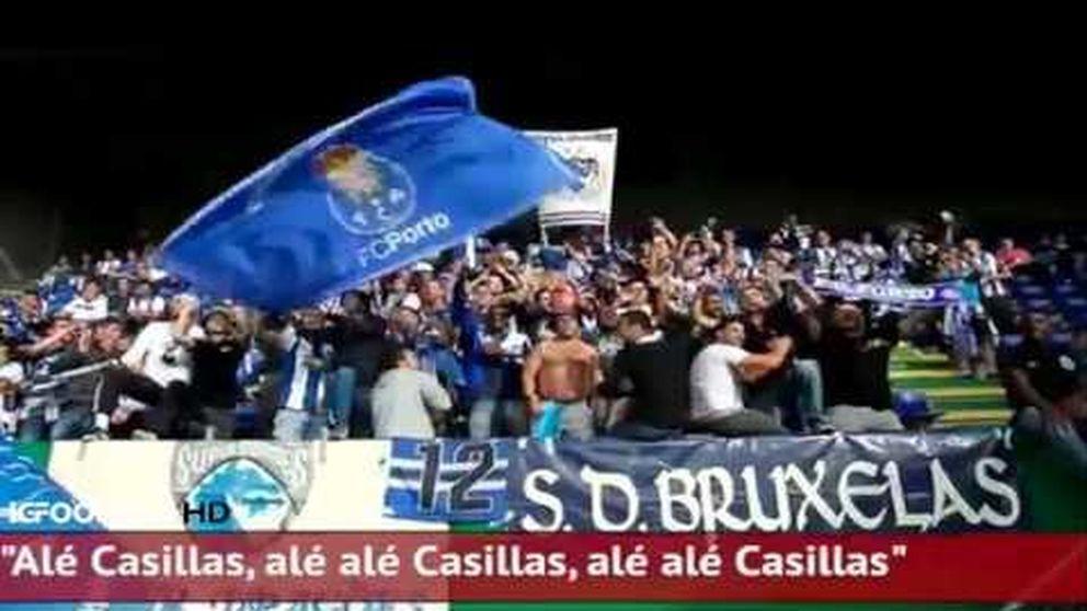 El Oporto canta a Casillas al ritmo de Manolo Escobar